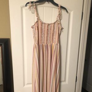 Dresses & Skirts - NWOT. Pastel colored. Maxi dress.